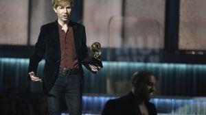 Beck at the 2015 Grammy awards ceremony.