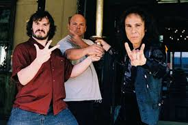 Tenacious D with the mighty Ronnie James Dio