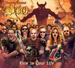 Album cover for 2014 Dio Tribute album, This is your Life.