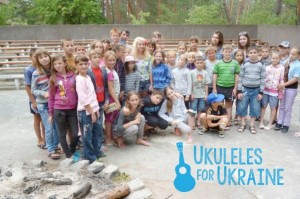 Ukuleles for Ukraine