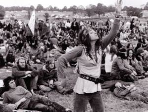 This is what Glastonbury looked like in the early 1970s