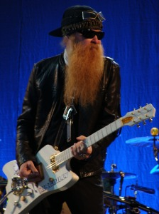 Billy Gibbons from ZZ Top is cool.  See the sunglasses?