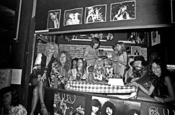 This is Led Zeppelin.  They had lots of groupies.  You probably won't.