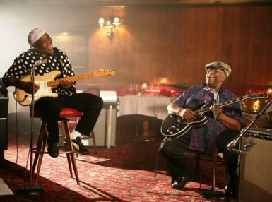This picture is the embodiment of the friendship between these great Blues legends.