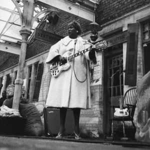 Sister Rosetta continued to dazzle audiences with her guitar even after being diagnosed with Diabetes.
